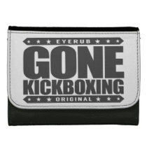 GONE KICKBOXING - Sparring Will Cause Brain Damage Wallet For Women