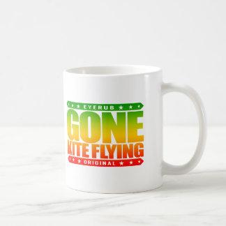 GONE KITE FLYING - I Wish I Was Higher Than a Kite Coffee Mug