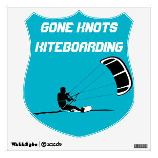 Gone Knots Kite Surfing Wall Poster Wall Sticker