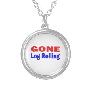 Gone Log Rolling. Necklaces