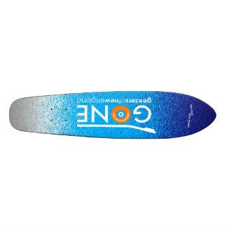 GONE logo cruiser Skateboard Deck