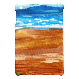 Gone Looking for Seashells Beach Surf Art iPad Mini Case