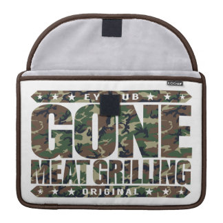 GONE MEAT GRILLING - Proud Grill Master, Carnivore Sleeve For MacBooks