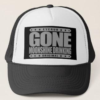 GONE MOONSHINE DRINKING - I Love My White Whiskey Trucker Hat