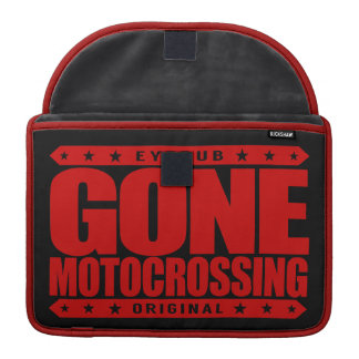 GONE MOTOCROSSING - Off-Road Motorcycle Racing Sleeve For MacBook Pro