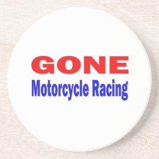 Gone Motorcycle Racing. Beverage Coasters