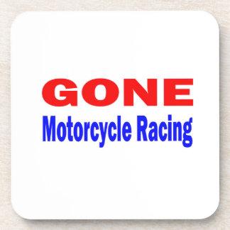 Gone Motorcycle Racing. Drink Coaster