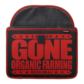 GONE ORGANIC FARMING - Compost and Crop Rotation Sleeves For MacBook Pro