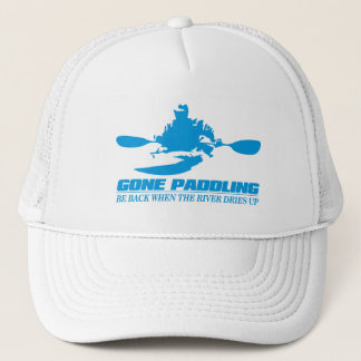 Gone Paddling (Be Back When The River Dries Up) Trucker Hat