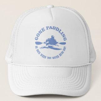 Gone Paddling (rd) Trucker Hat