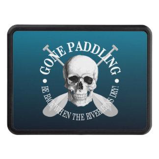 Gone Paddling (Skull) Trailer Hitch Cover