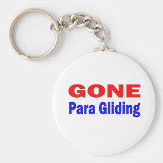 Gone Para Gliding. Key Chain