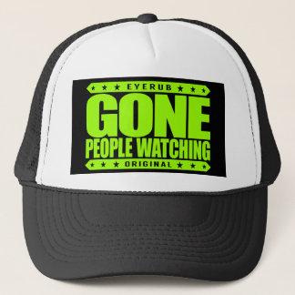 GONE PEOPLE WATCHING - I Am Stealth Crowd Watcher Trucker Hat