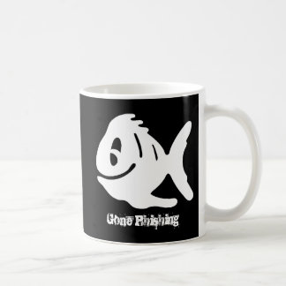 Gone Phishing funny Coffee Mug