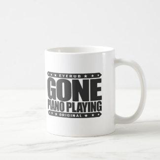 GONE PIANO PLAYING - I Am a Child Prodigy Pianist Classic White Coffee Mug
