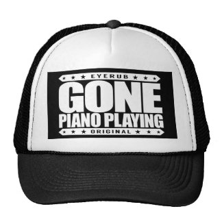 GONE PIANO PLAYING - I Am a Child Prodigy Pianist Trucker Hat
