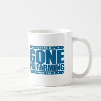 GONE PIG FARMING - I Love Raising & Breeding Swine Coffee Mug