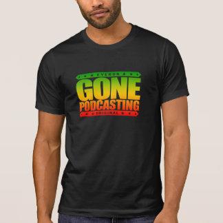 GONE PODCASTING - I Broadcast Pirate Radio Signal Tee Shirt