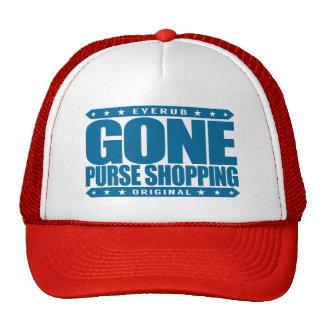 GONE PURSE SHOPPING - I Am Designer Handbag Addict Trucker Hat