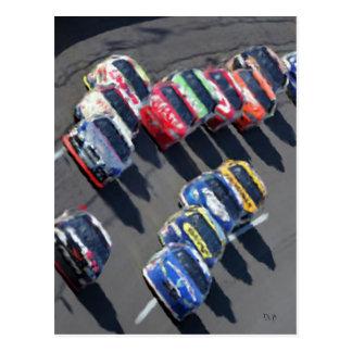 Gone Racing Postcard