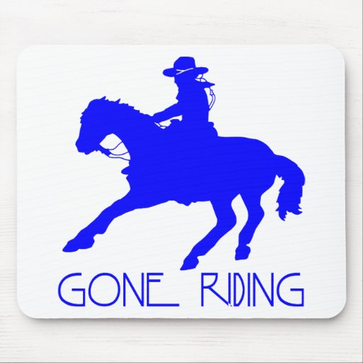 GONE RIDING MOUSE PAD