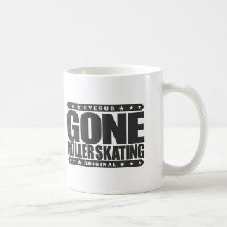 GONE ROLLER SKATING - I Love Roller Derby Jamming Coffee Mug