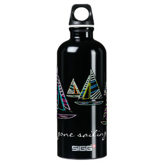 Gone Sailing Aluminum Water Bottle