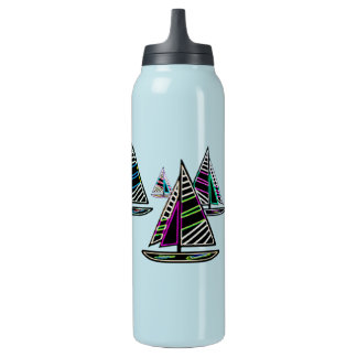 Gone Sailing Insulated Water Bottle