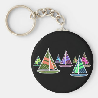 Gone Sailing Keychain