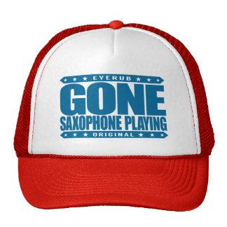 GONE SAXOPHONE PLAYING - Love Woodwind Instruments Trucker Hat