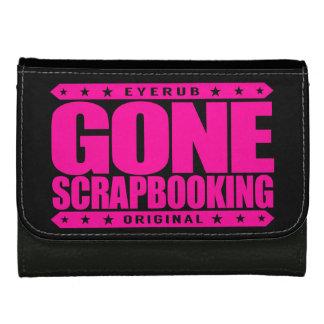 GONE SCRAPBOOKING - I Love To Preserve Memorabilia Wallet For Women
