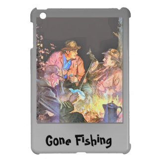Gone Shooting, Guys on a fishing trip Case For The iPad Mini