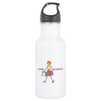 Gone Shoppin 18oz Water Bottle