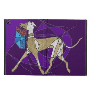 Gone Shopping, Art Deco Italian Greyhound Powis iPad Air 2 Case