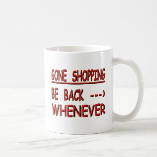 Gone Shopping Coffee Mug Zazzle