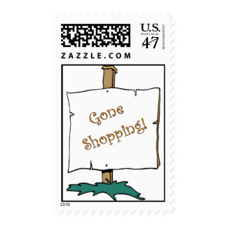 Gone Shopping Postage