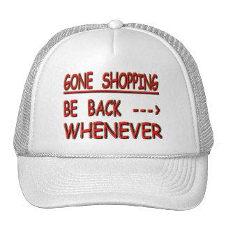 gone shopping trucker hat