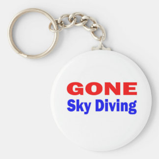 Gone Sky Diving. Keychains