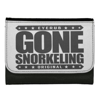 GONE SNORKELING - Fishes, Sea Turtles, Coral Reefs Women's Wallet