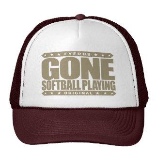 GONE SOFTBALL PLAYING - World Series Championship Trucker Hat