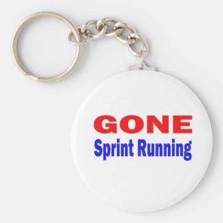 Gone Sprint Running. Key Chain