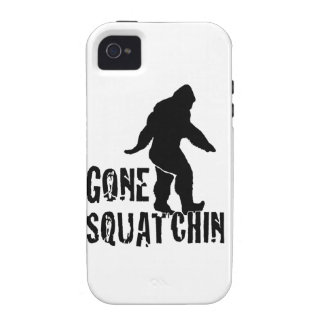 Gone Squatchin 2 Vibe iPhone 4 Cases
