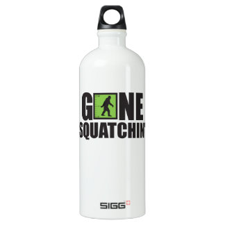 Gone Squatchin' Aluminum Water Bottle
