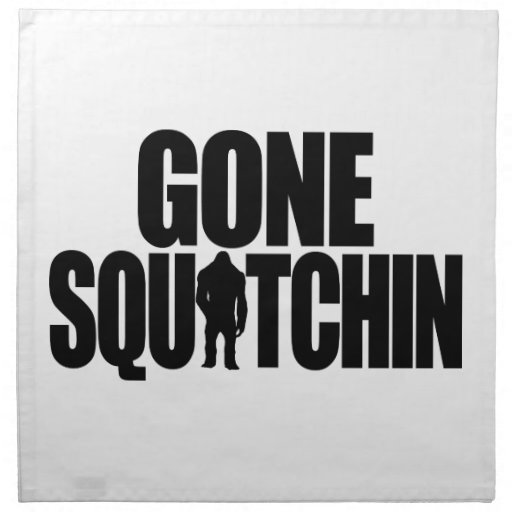 Gone Squatchin American MoJo Napkin