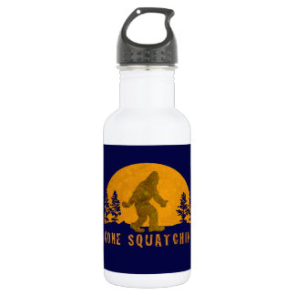 Gone Squatchin' Awesome Vintage Sunset 18oz Water Bottle