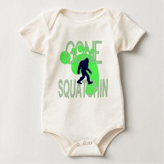 gone squatchin baby bodysuit