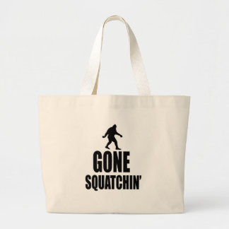 Gone Squatchin Tote Bags