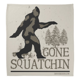 Gone Squatchin Bandana