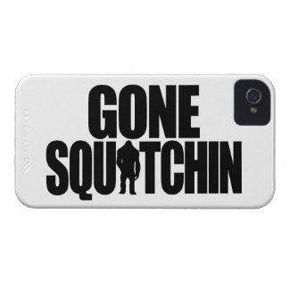 Gone Squatchin Barely There iPhone 4 Case