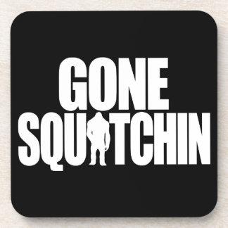 Gone Squatchin Beverage Coaster